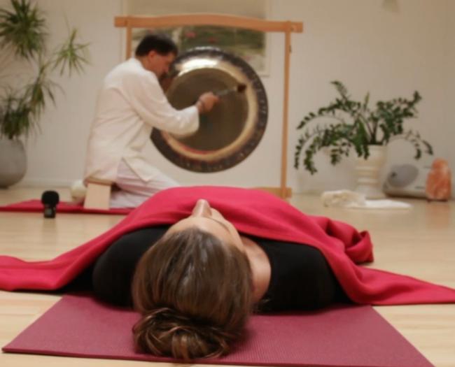 Video Beitrag zur Gongmeditation im Kundalini Yoga Zentrum München